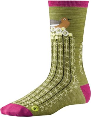 Smartwool Women's Charley Harper National Park Poster Bird on Cactus Sock