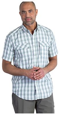 ExOfficio Men's Lodestone Plaid SS Shirt