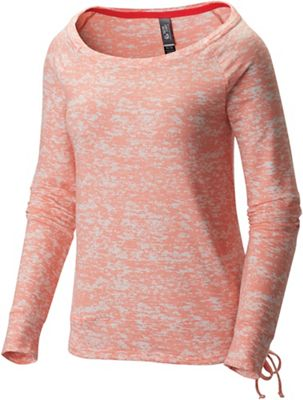 Mountain Hardwear Women's Burned Out LS Pullover