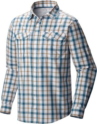 Mountain Hardwear Men's Canyon Plaid LS Shirt