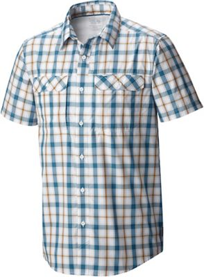Mountain Hardwear Men's Canyon Plaid SS Shirt