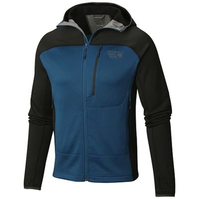 Mountain Hardwear Men's Desna Grid Hooded Jacket