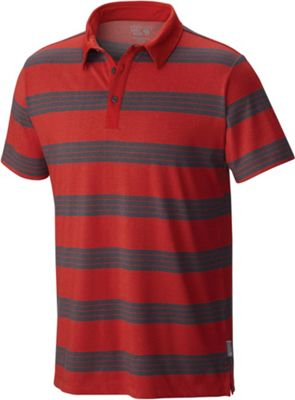 Mountain Hardwear Men's DrySpun Striped SS Polo
