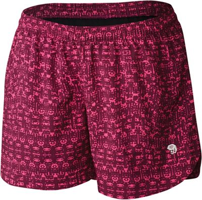 Mountain Hardwear Women's Pacing Printed 3 Inch Short