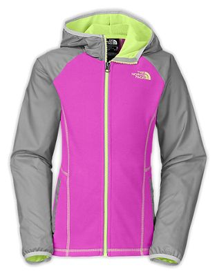 The North Face Girls' Glacier Track Full Zip Hoodie