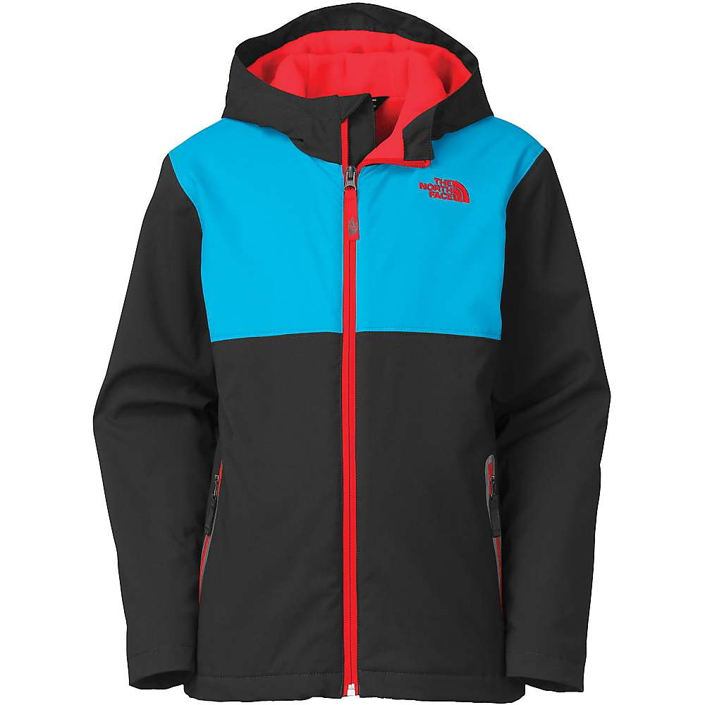 the north face boys 39 hooded soft shell jacket moosejaw. Black Bedroom Furniture Sets. Home Design Ideas