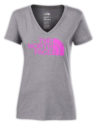 The North Face Women's Half Dome V-Neck SS Tee
