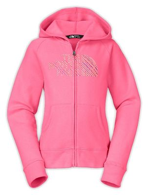 The North Face Girls' Logowear Full Zip Hoodie