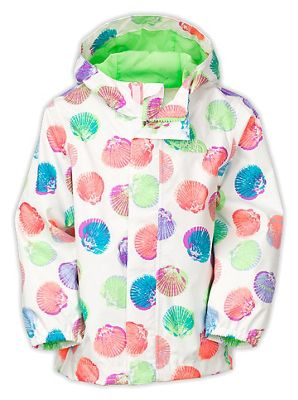The North Face Toddlers' Printed Tailout Rain Jacket