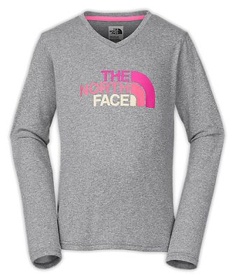 The North Face Girls' Reaxion LS Tee