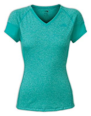 The North Face Women's Reactor V-Neck SS Top