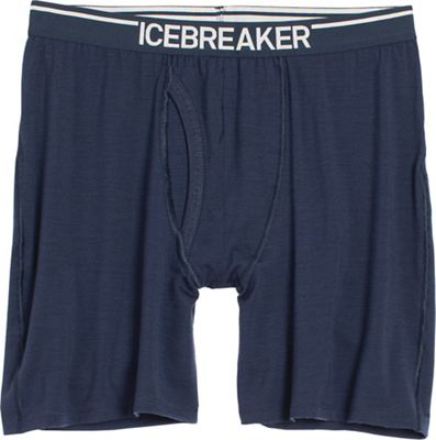 Icebreaker Men's Anatomica Long with Fly Boxer