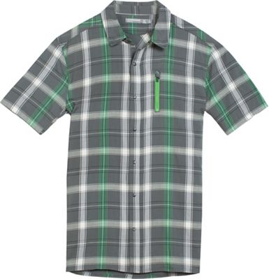 Icebreaker Men's Compass II SS Shirt Plaid