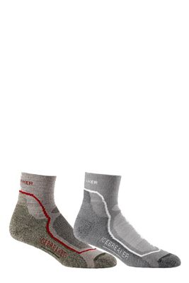 Icebreaker Men's Hike+ Light Mini 2 Pack Sock