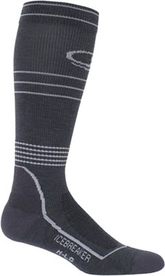 Icebreaker Men's Hike+ Light Cushion Compression Over The Calf Sock