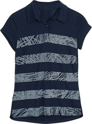 Icebreaker Women's Sphere SS Palm Slice Polo