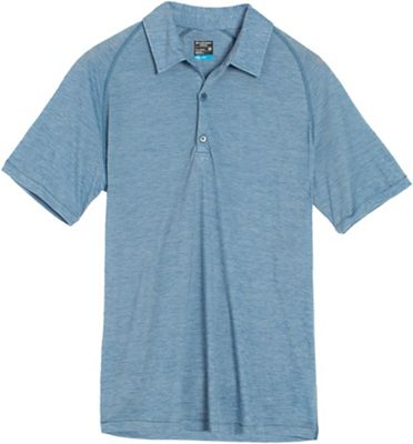 Icebreaker Men's Sphere SS Polo Stripe
