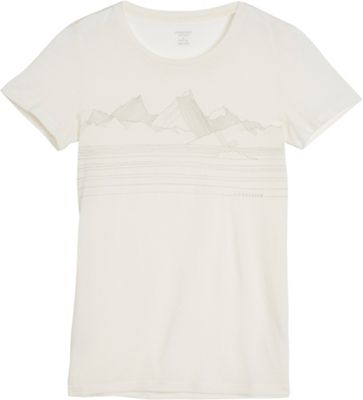 Icebreaker Women's Tech Lite SS Crewe Approach Top
