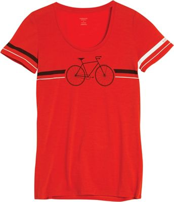 Icebreaker Women's Tech Lite SS Scoop Fixie Top