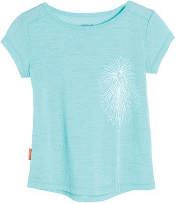 Icebreaker Kids' Tech Lite SS T Wildflower
