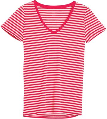 Icebreaker Women's Tech Lite SS V Strip Top