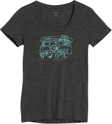 Icebreaker Women's Tech Lite SS Scoop Van Life Top