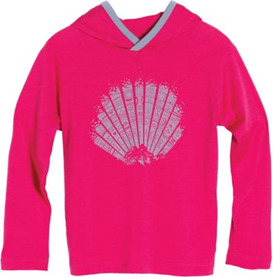 Icebreaker Kids' Tech LS Hood Sunrise