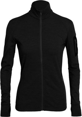 Icebreaker Women's Terra LS Zip Top