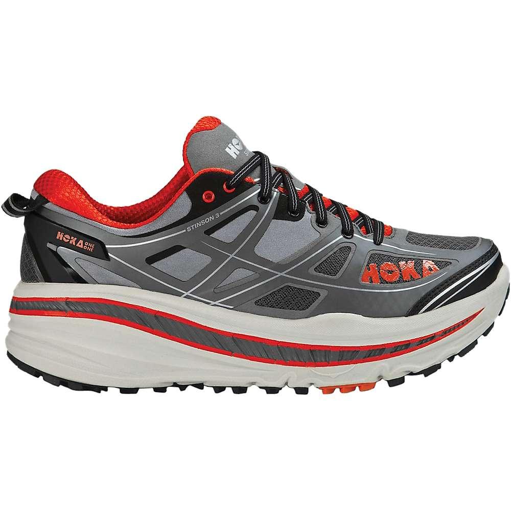 Hoka One One Stinson  Atr Men S Shoes Grey Orange