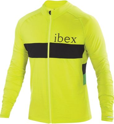 Ibex Men's Spoke Full Zip LS Jersey