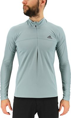 Adidas Men's 37.5 1/2 Zip LS Top