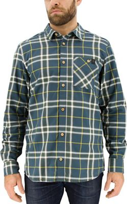 Adidas Men's All Outdoor Checker Moss LS Shirt