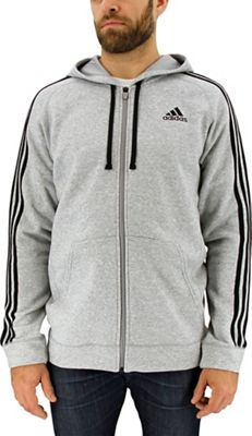 Adidas Men's Essential Cotton Fleece Full Zip Hoody