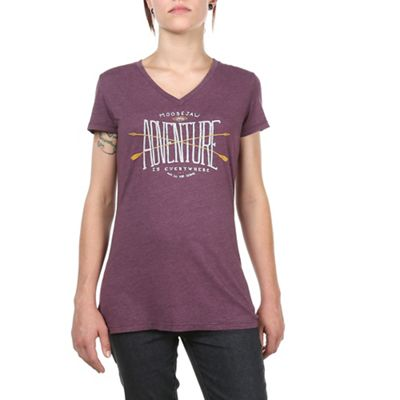 Moosejaw Women's Takashi I Will Survive V-Neck SS Tee