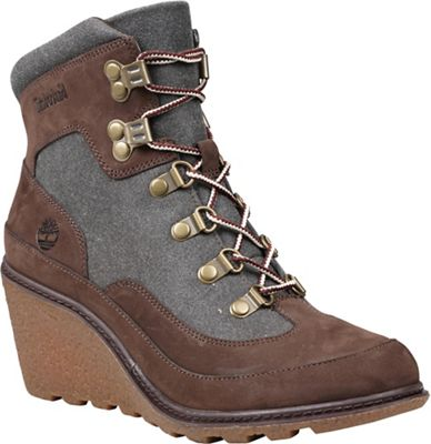 Timberland Women's Amston Leather and Fabric Hiker Boot