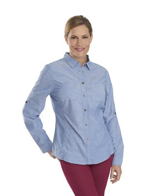 Woolrich Women's Conundrum Solid Convertible Shirt