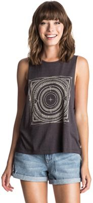 Roxy Women's Trace in Sand Muscle Tank