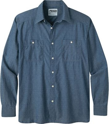 Mountain Khakis Men's Ace Indigo LS Shirt