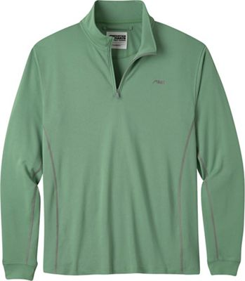 Mountain Khakis Men's Shady Cay II Qtr Zip LS Crew Shirt