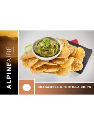 AlpineAire Guacamole and Tortilla Chips