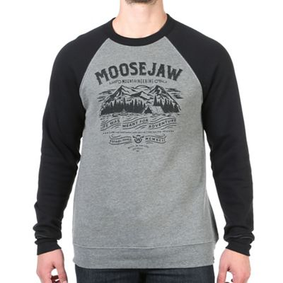 Moosejaw Men's I've Been Everywhere Crew Neck Sweatshirt