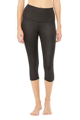 Alo Women's High Waist Airbrush Capri