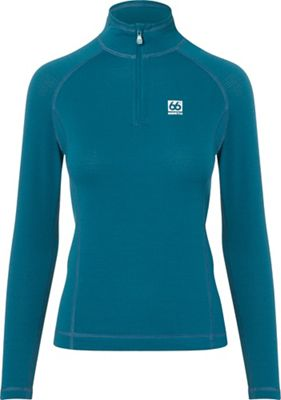 66North Women's Grettir Zip Neck Top