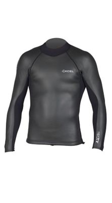 Xcel Men's Axis Smoothskin 2/1MM Back Zip LS Top