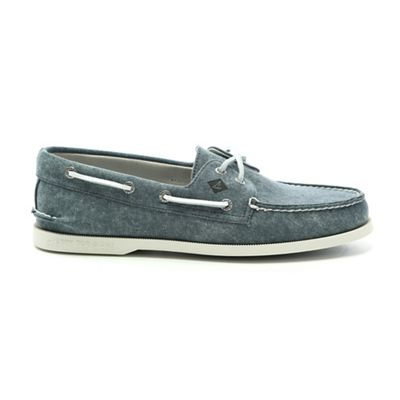 Sperry Men's A/O 2-Eye White Cap Canvas Shoe