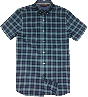 Jeremiah Men's Indigo Plaid S/S Shirt