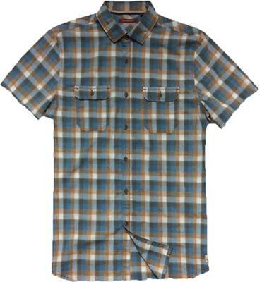 Jeremiah Men's Space Dye Plaid S/S Shirt