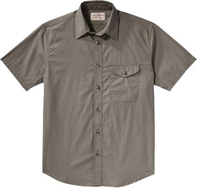 Filson Men's Alaska Fit Feather Cloth SS Shirt