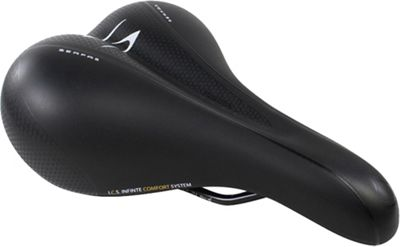 Serfas Women's DDL-200E Elements Dual Density Comfort Saddle