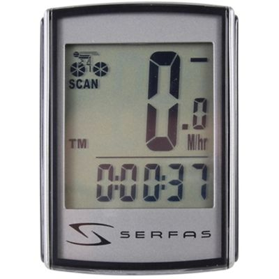 Serfas SI-45 Level 4+ Backlit Wired Speed Computer